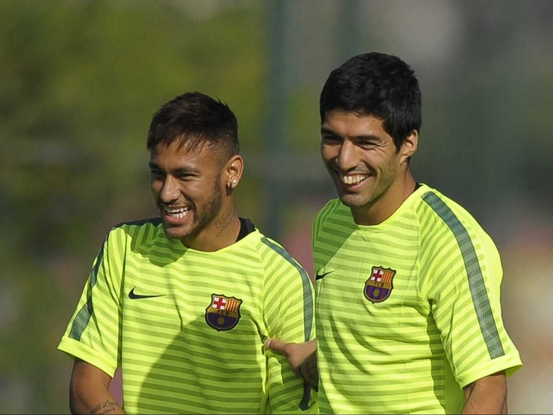 Neymar Relishing Partnership With Lionel Messi, Luis Suarez