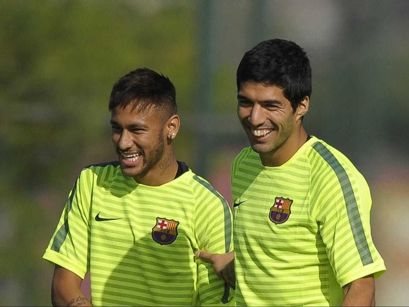 Neymar Relishing Partnership With Lionel Messi, Luis Suarez