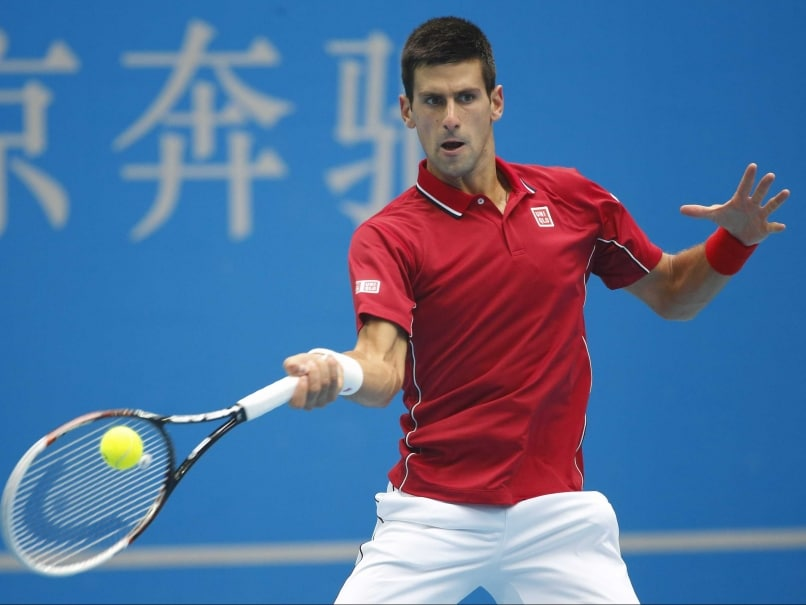 Novak Djokovic Overpowers Andy Murray to Reach China Open Final