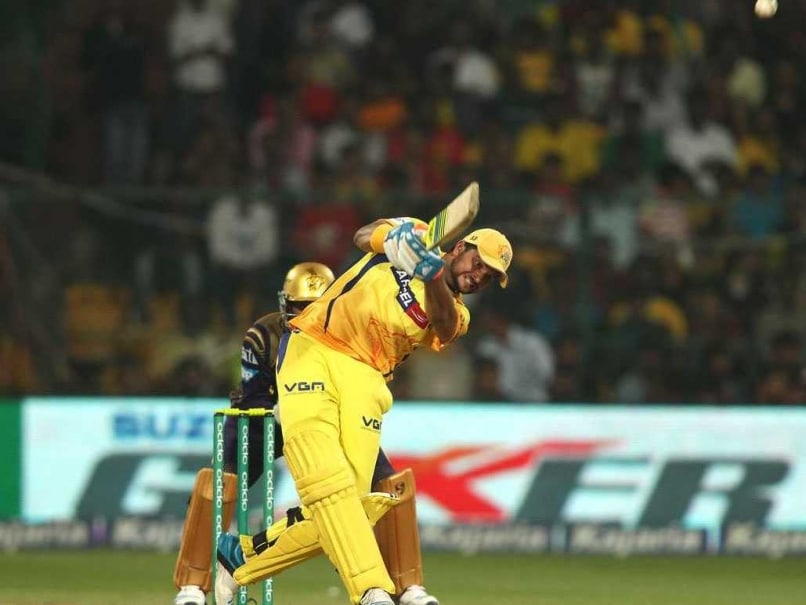 Champions League Twenty20: Magnificent Suresh Raina Ends Chennai Super Kings' Trophy Drought With a Ton