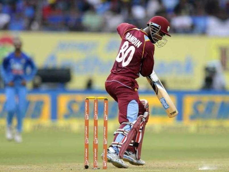 Ramdin 1st ODI