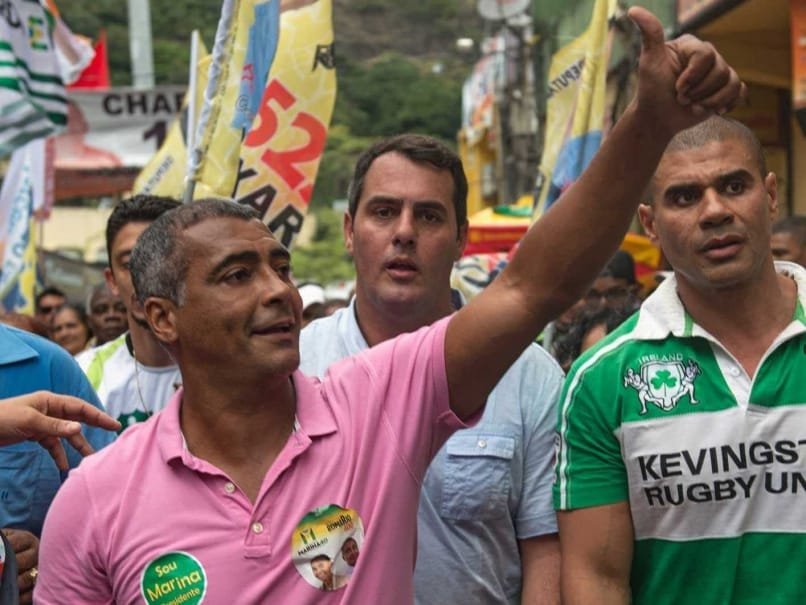 Football Great Romario Elected to Brazil Senate
