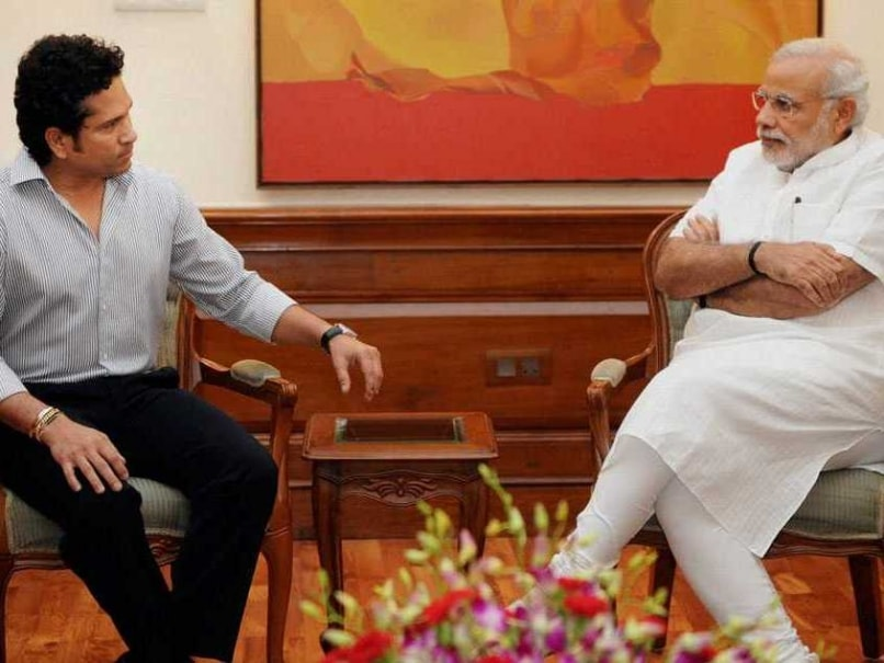 Sachin Tendulkar Gifts Autographed Team India Shirt to PM Narendra Modi