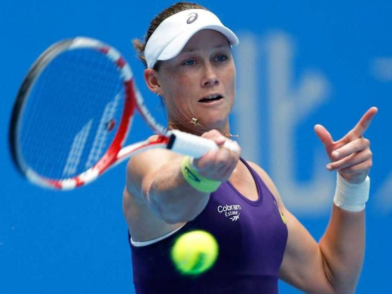 Samantha Stosur Storms Into Japan Semifinals