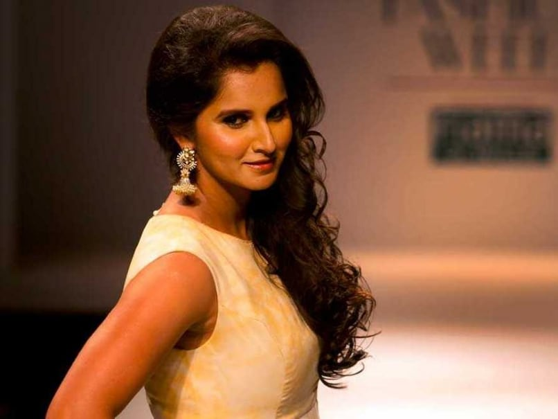 Sania Mirza Fashion Ramp 2