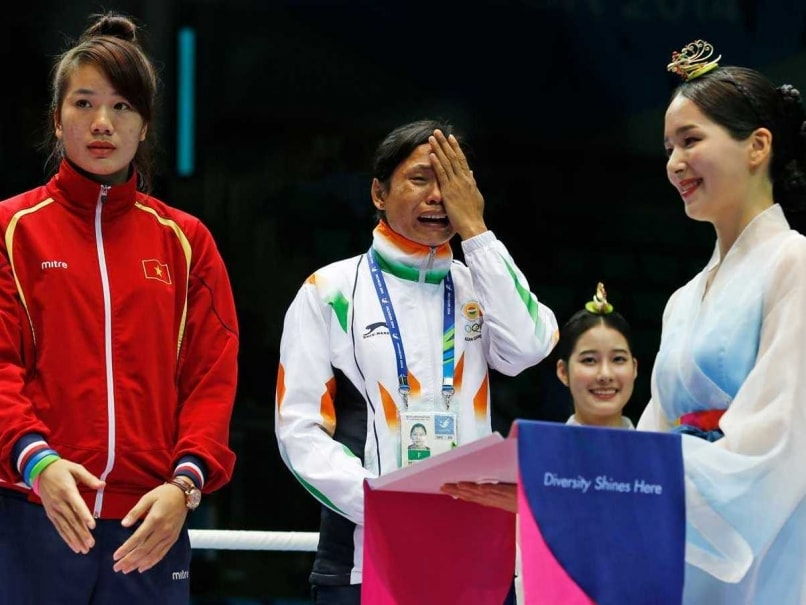 Boxer Sarita Devi Accepts Bronze Medal After Olympic Council of Asia Hearing