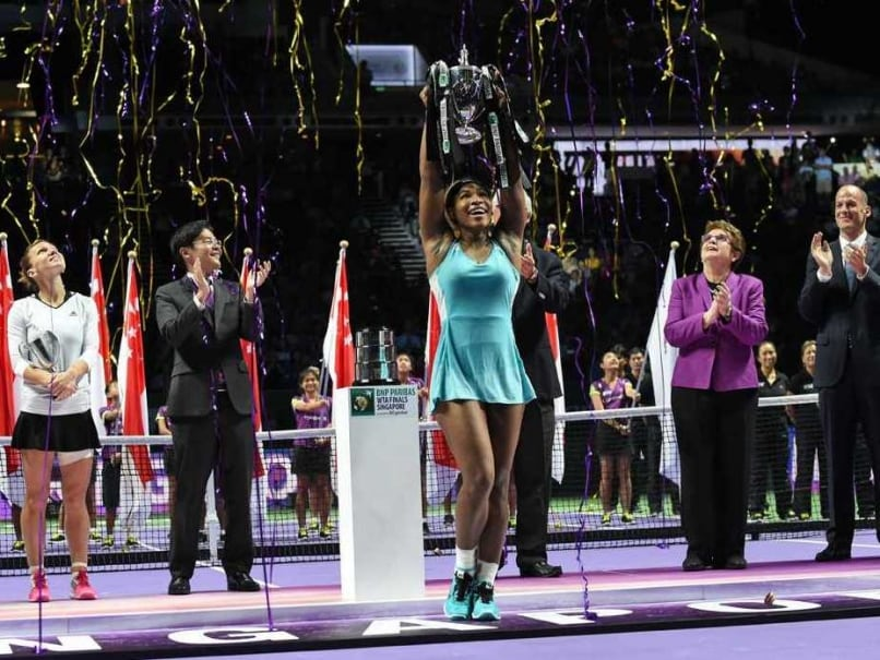 Serena Williams Beats Simona Halep to Win WTA Finals