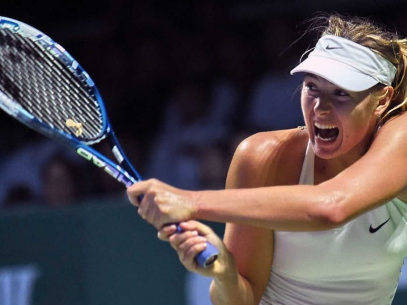 Maria Sharapova Out of WTA Finals, Serena Williams Year-End Number One