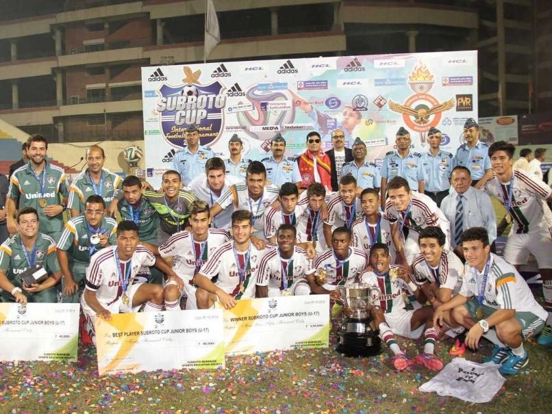 Brazilian School Colegio Estadul Santo Antonio Wins Subroto Cup Title