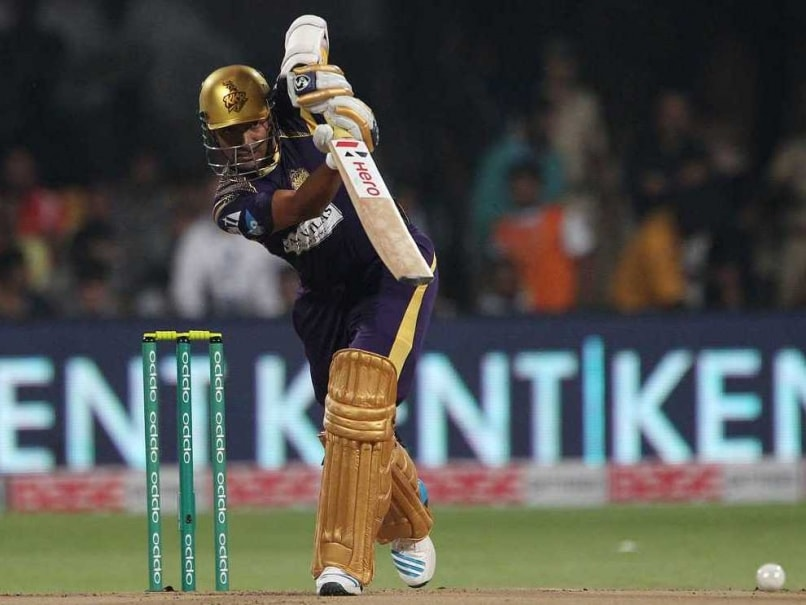 Home boy Robin Uthappa provided KKR a blazing start.