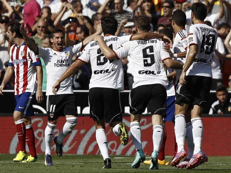 La Liga: Valencia Stun Atletico Madrid 3-1