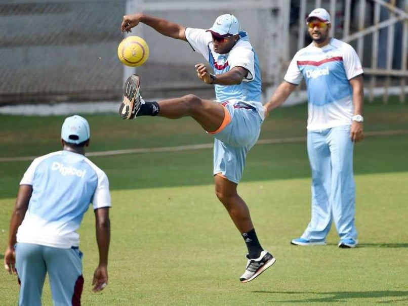 West Indies Training Image