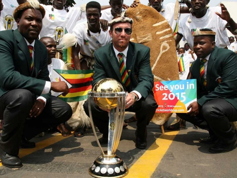ICC World Cup 2015 Trophy Comes to the UAE