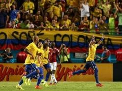 Neymar Lifts Brazil Over Colombia in Friendly