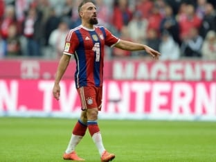 Bayern Munich's Franck Ribery, Medhi Benatia to Miss Three Games
