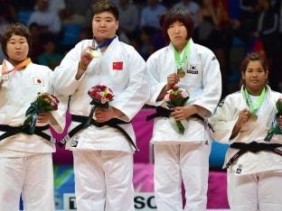 Asian Games: Judoka Kim Eun-Kyeong Wins Bronze With Dislocated Shoulder