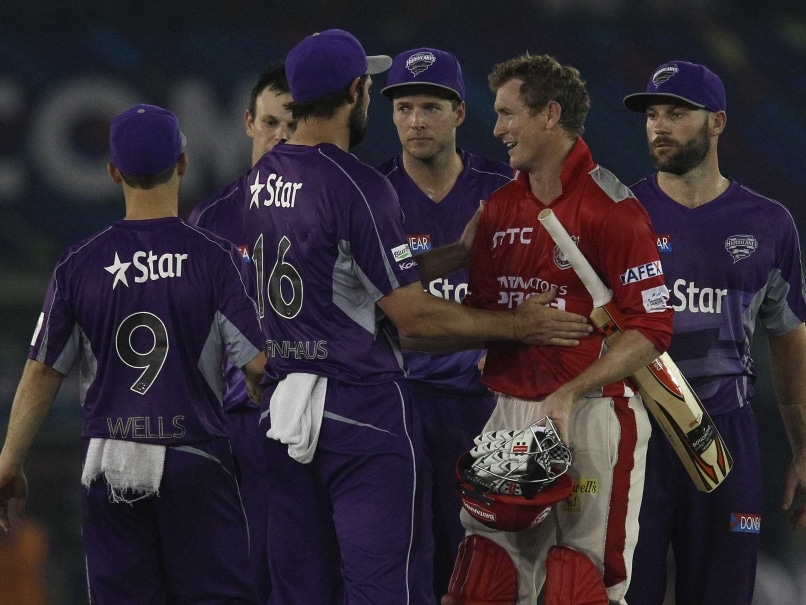 CLT20 Highlights: Thisara Perera, George Bailey Power Kings XI Punjab to Five-Wicket Win Over Hobart Hurricanes