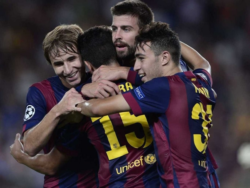 Champions League: Gerard Pique Takes F.C. Barcelona Past APOEL Nicosia