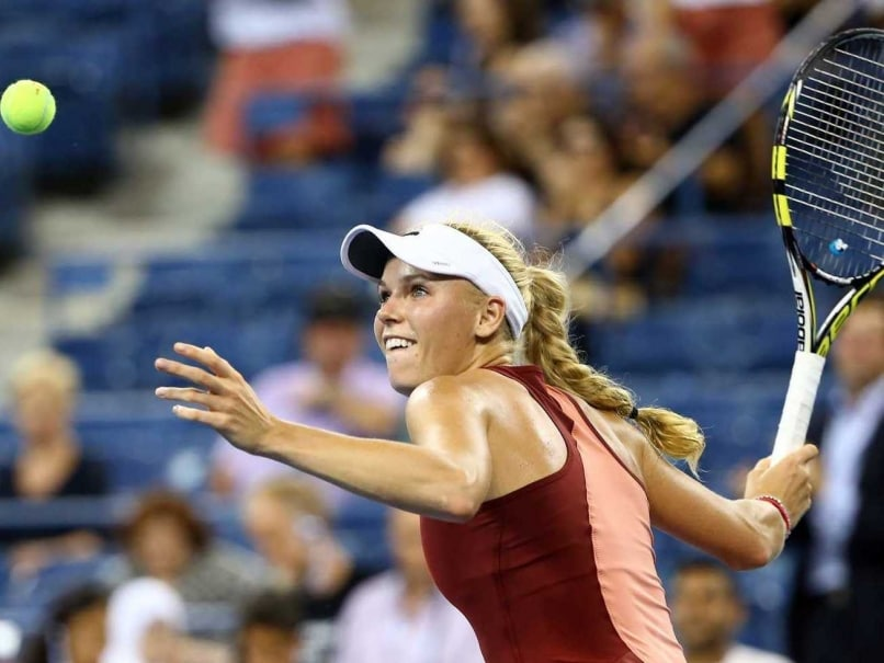 Perfect Returns Help Caroline Wozniacki Return to US Open Semi