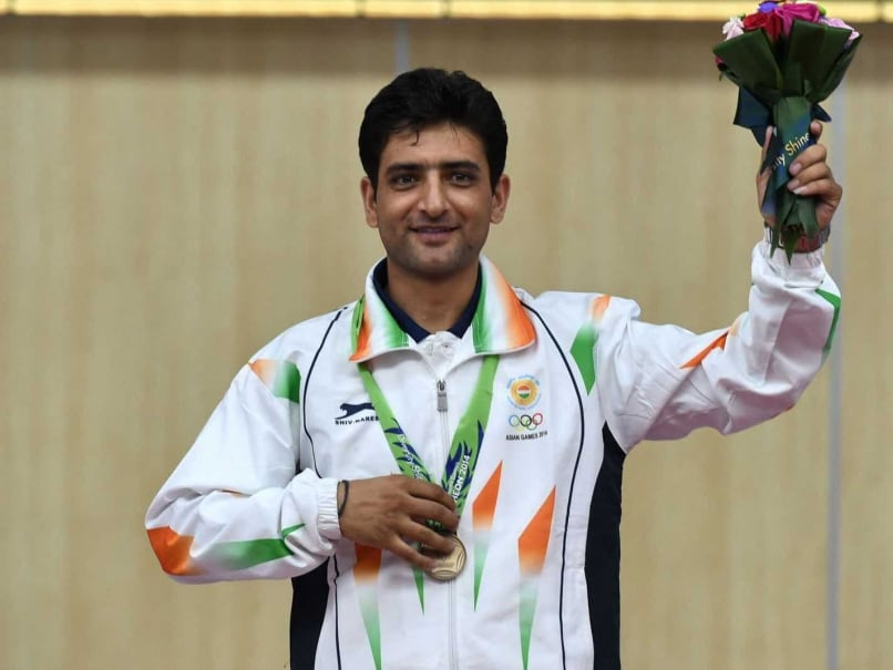 Asian Games: Chain Singh Gives India Bronze in Men's 50m 3-Position Rifle