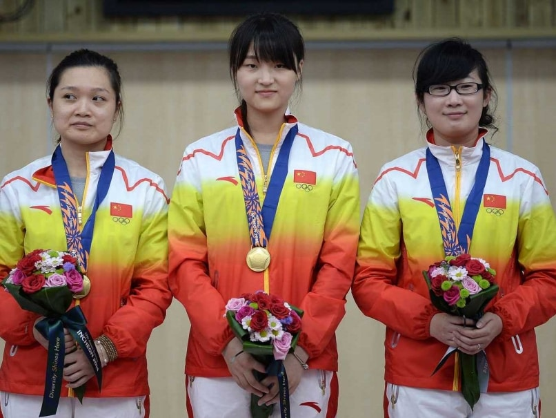 China Clinch First Gold Medal at Asian Games