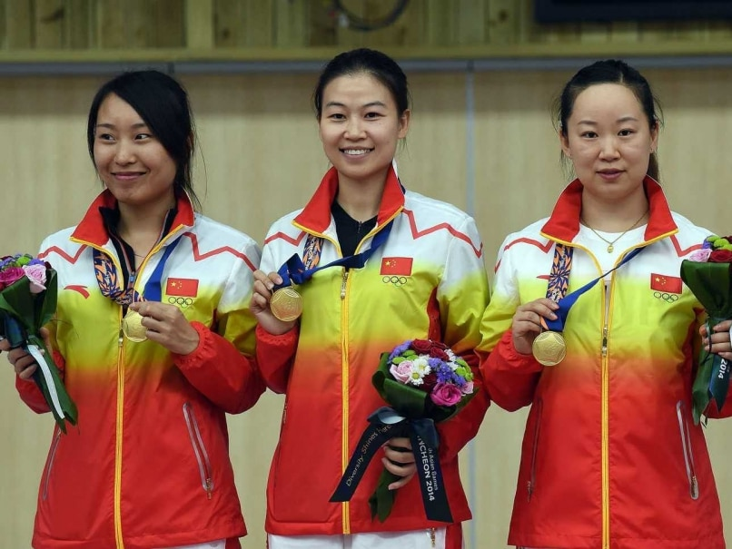 Asian Games: China Set World Record in Women's 10m Air Pistol Event