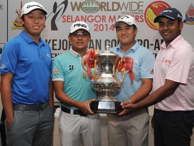 Anirban Lahiri Upbeat as David Lipsky Eyes Selangor Masters Golf Title