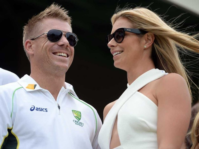 Image result for david warner with wife