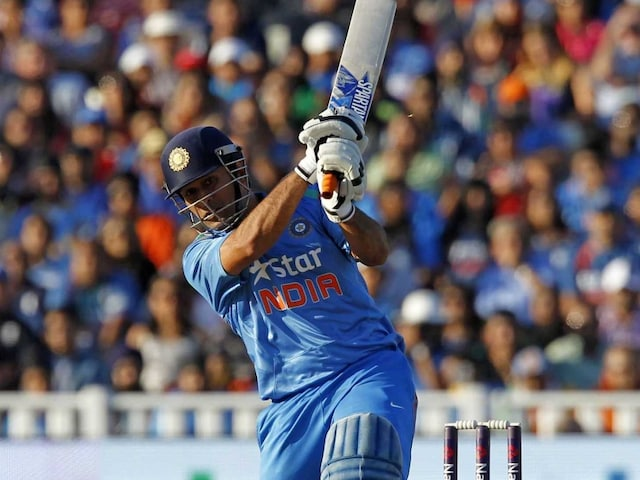 Mahendra Singh Dhoni Says he Backed Himself to Hit the Boundaries