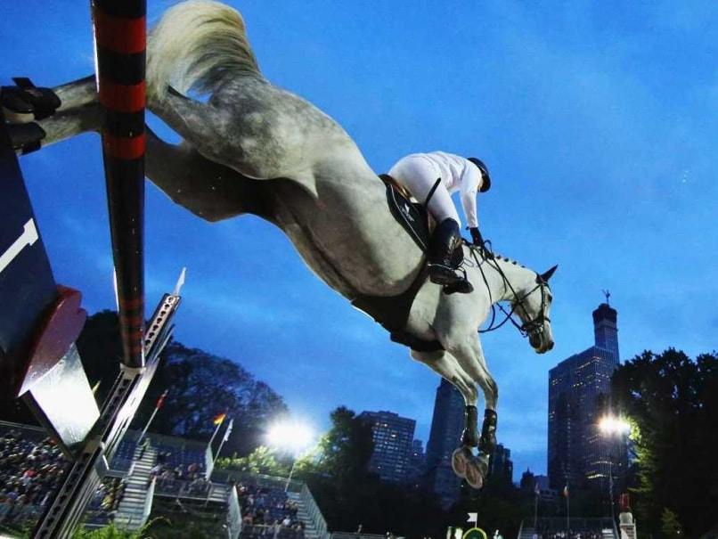 Asian Games: Indian Equestrians Finish Fourth in Eventing Dressage
