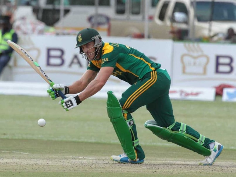 Tri-Series: Faf du Plessis Ton Helps South Africa Beat Zimbabwe, Reach Final