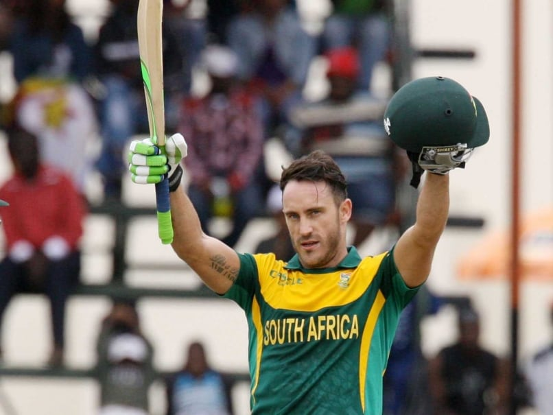 Faf Du Plessis Misses Out on Hat-Trick of Centuries