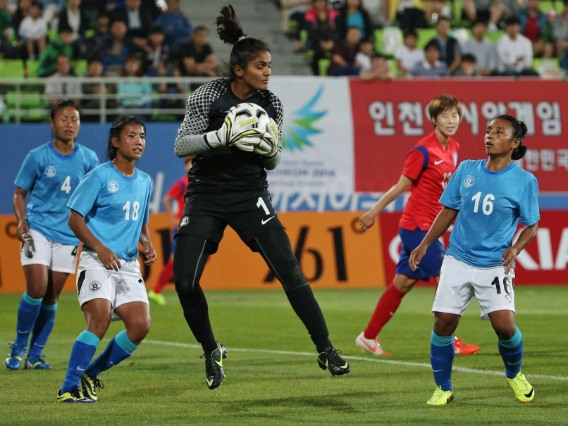 Asian Games Football Indian Women Suffer Crushing   Defeat Against Korea Republic