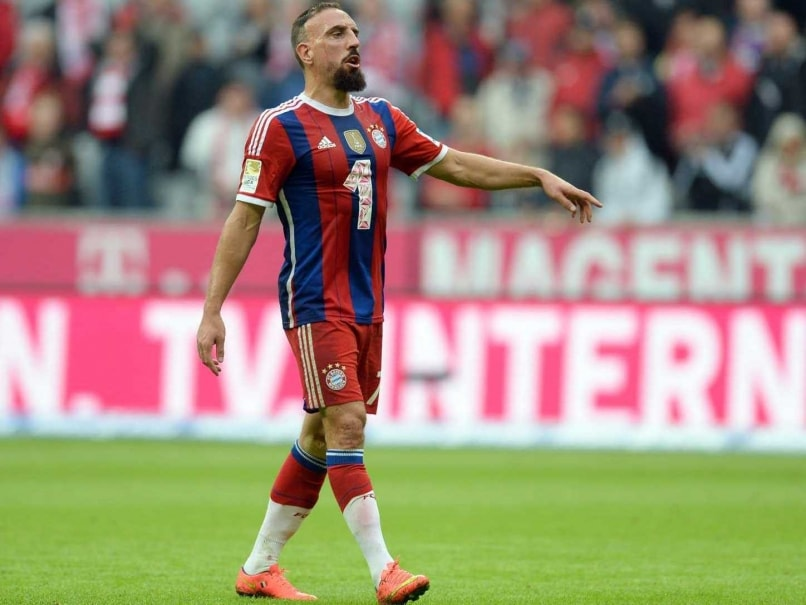 Champions League Injury Strikes Franck Ribery Again As He Misses Manchester City F C Clash Football News