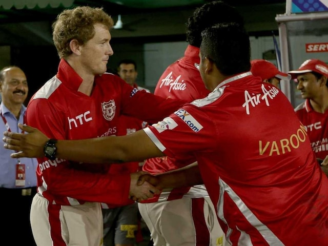 Champions League Twenty20: Kings XI Punjabs Spirit vs Cape Cobras Pleases George Bailey