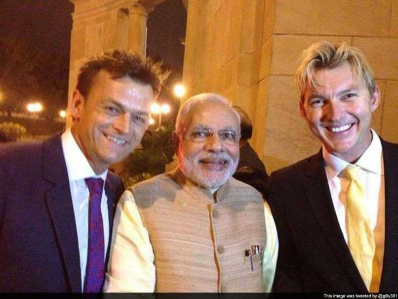 When Heroes Collide: Brett Lee, Adam Gilchrist Feast With Indian PM Narendra Modi