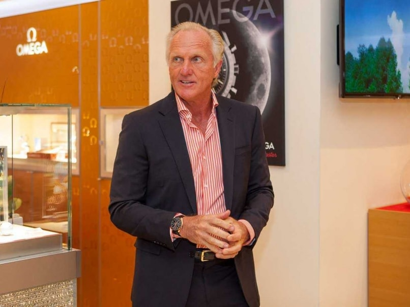 Golfer Greg Norman Almost Severs Hand With Chainsaw