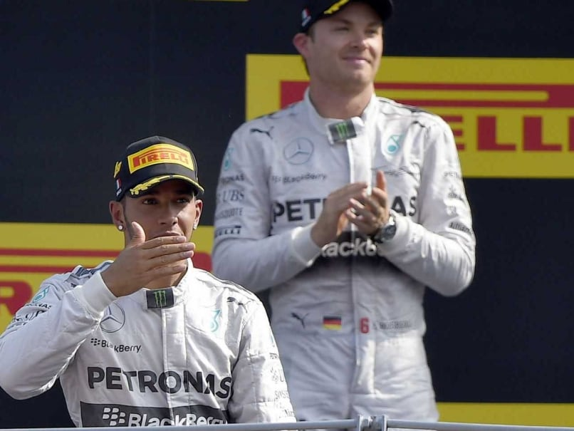 Lewis Hamilton and Nico Rosberg Welcome Sound of Radio Silence