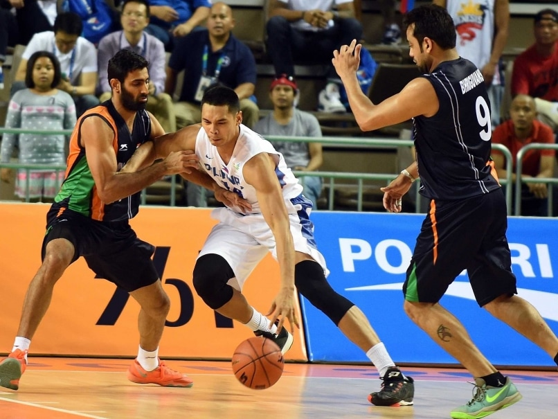 Asian Games: India Go Down to Philippines in Men's Basketball