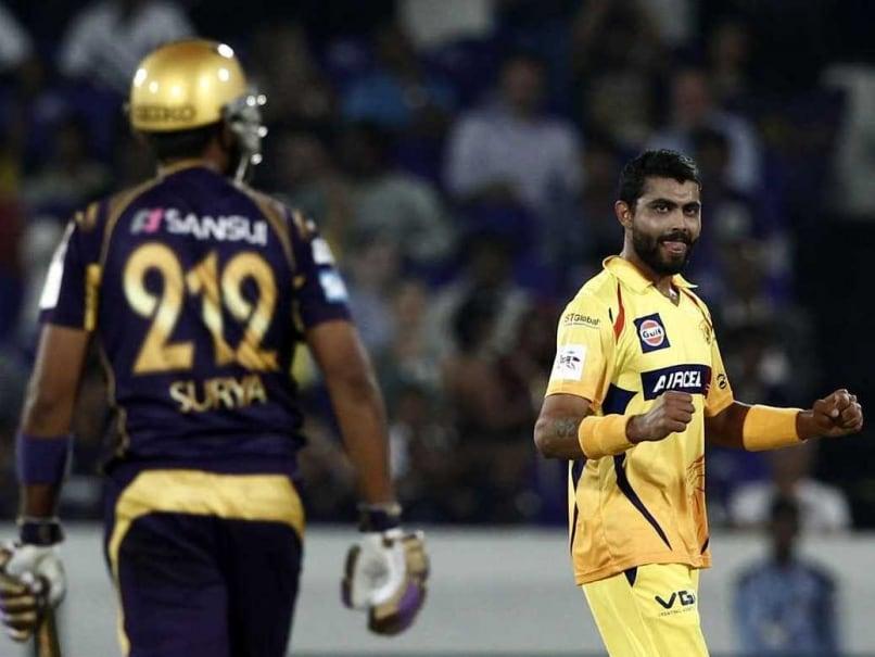 Jadeja CLT20 wicket
