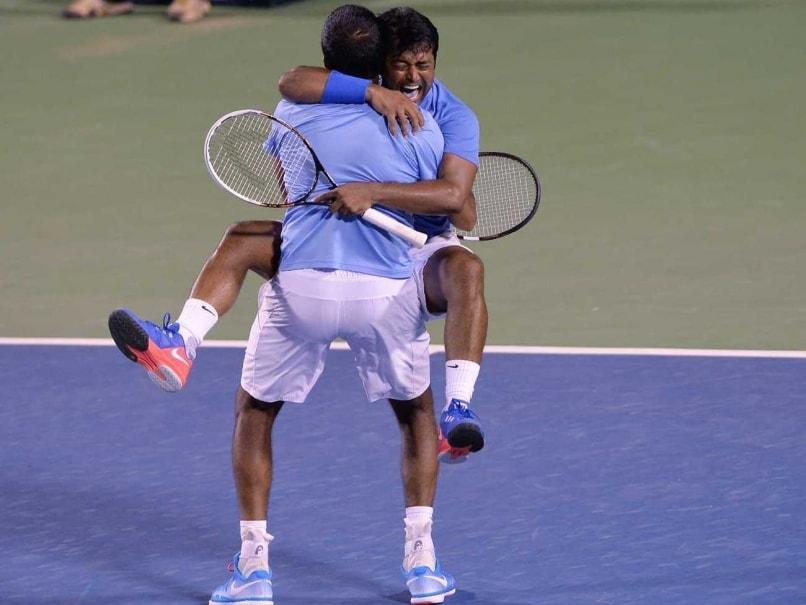 Leander Paes Hails Davis Cup Doubles Win