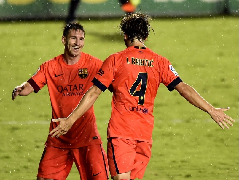 Lionel Messi, Neymar on Target as F.C. Barcelona Thrash Levante
