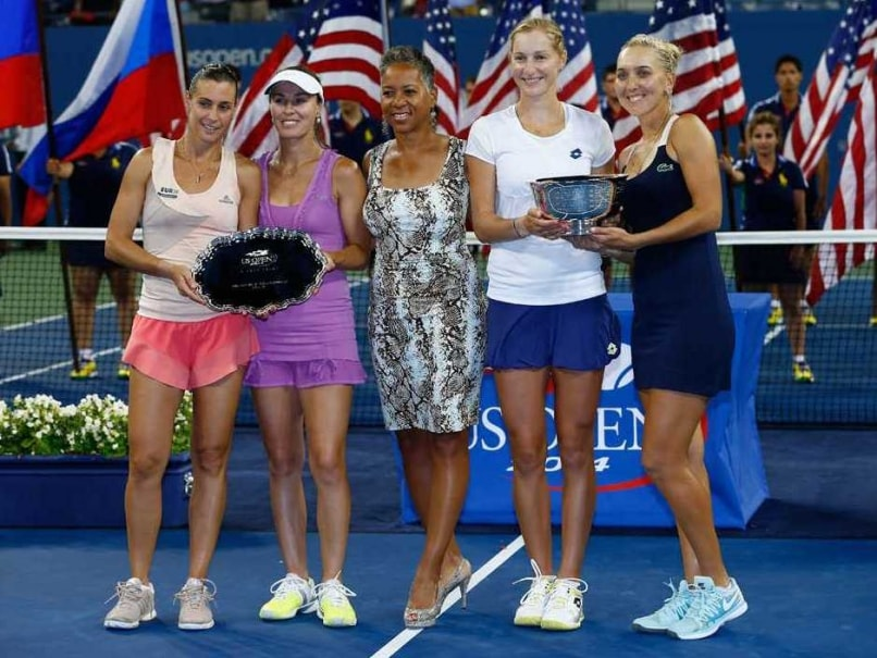 Ekaterina Makarova, Elena Vesnina Dash Martina Hingis' US Open Title Dream