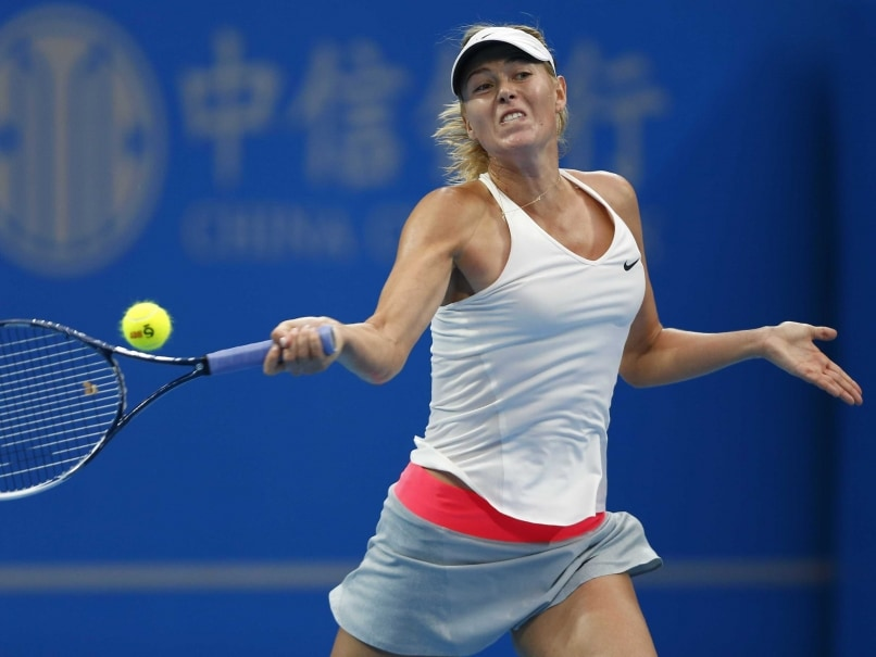 Maria Sharapova Powers Through, Sara Errani tumbles in China
