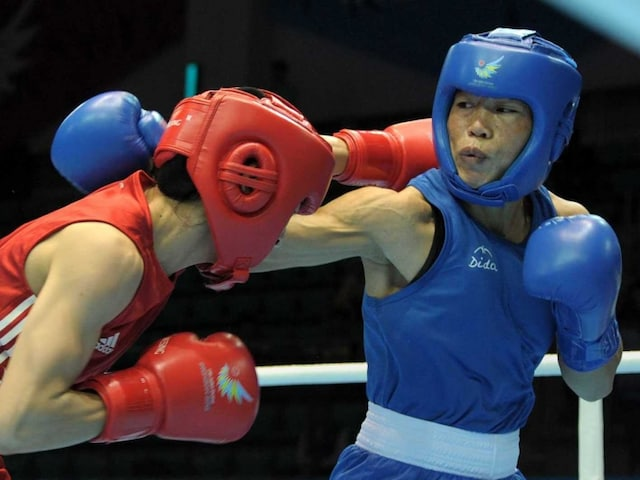 Mary Kom, Sarita Devi Enter Quarterfinals in Asian Olympic Qualifiers