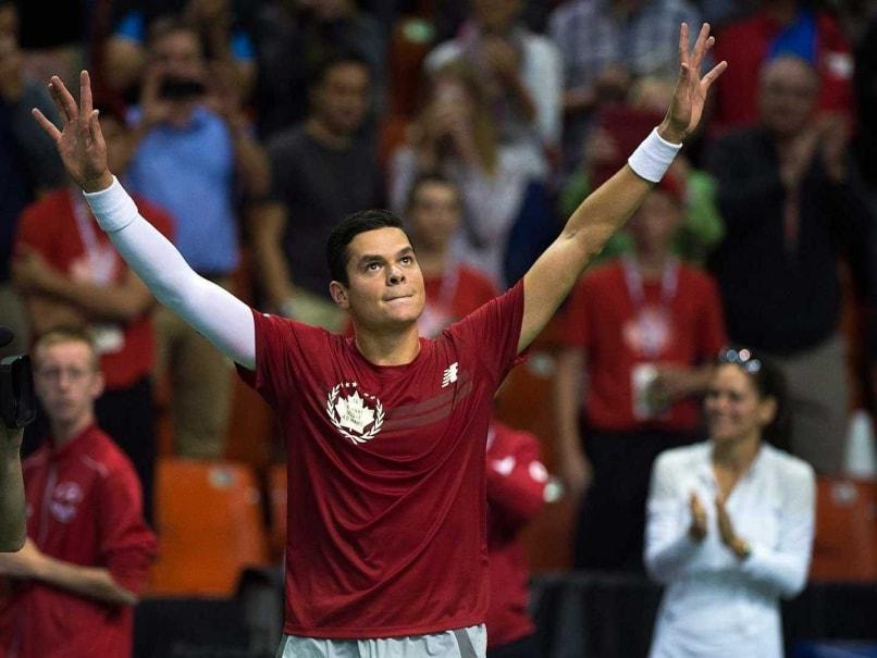 Milos Raonic Wins to Seal Canada's Davis Cup Spot