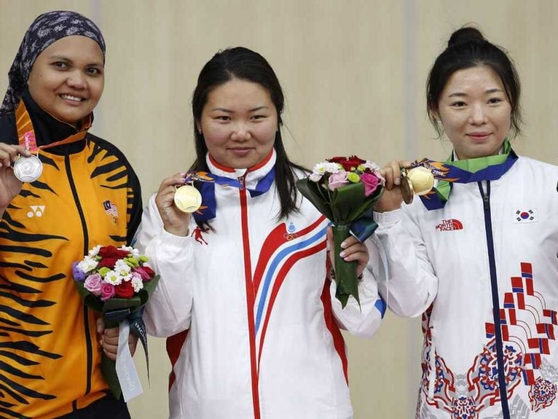 Asian Games: Mongolian Woman Bags Historic Shooting Gold