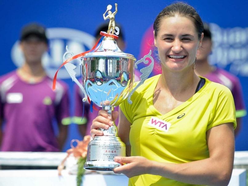 Monica Niculescu Beats Alize Cornet to Win Guangzhou Open