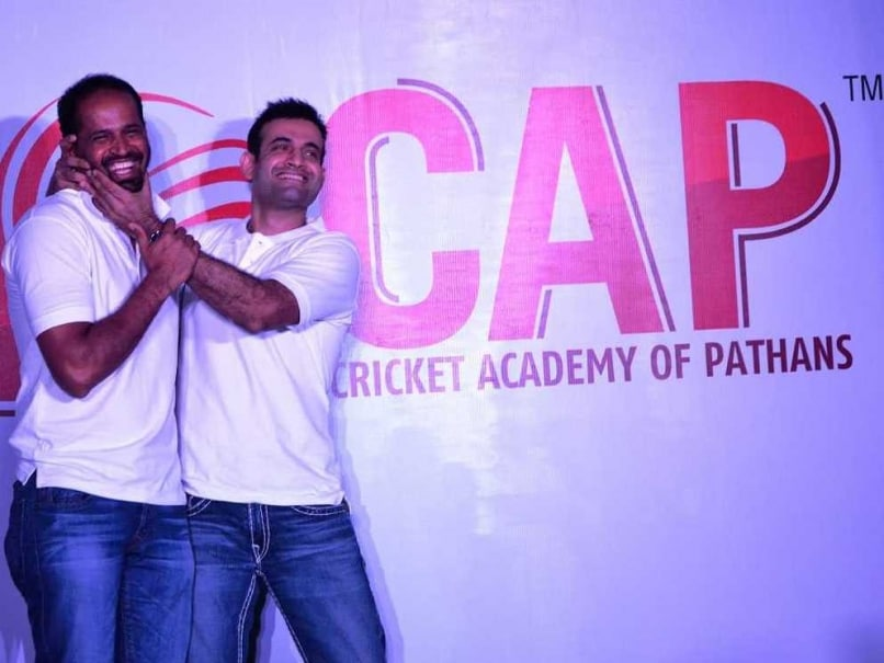 Irfan, Yusuf Pathan Launch Cricket Academy