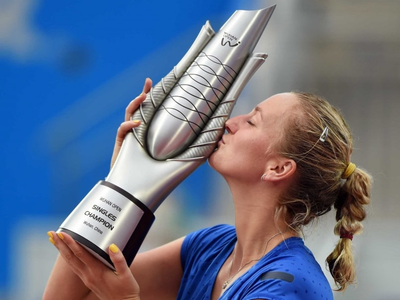 Wimbledon Champion Petra Kvitova Beats Eugenie Bouchard to Win Wuhan Open